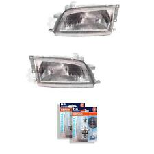 Halogen Headlight Set for Toyota Carina E 5.92-9.97 H4 without Motor