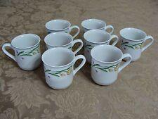 8 Casa Mia Alloro Floral Pattern Cups