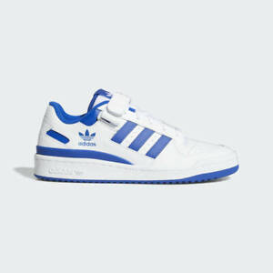 Adidas Forum 84 Low Mens Casual Shoes Cloud White/Blue FY7756 Bad Bunny NEW!