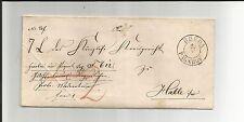 Preussen V. / RHEDA BAHNHOF K2 auf Paketbegleit-Brief m. hs. Vermerk