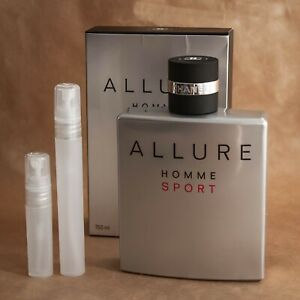 Chanel Allure Homme Sport 10 ml travel size EDT 100% genuine