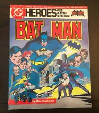 1985 Batman DC Heroes Role Playing Reference Game + 2 Maps! Mayfair #205