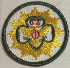 "1960-1963 Girl Scout SENIOR Badge GENERAL INTEREST 2 1/4"""