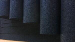 (11,00EUR/m²) 6mm Bautenschutzmatte, Gummigranulatmatte