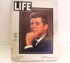 1963 Life Magazine President John F Kennedy JFK November 29 1963
