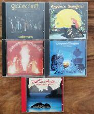 KRAUTROCK CD SAMMLUNG GROBSCHNITT LAKE ANYONE'S DAUGHTER
