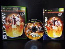 TOP SPIN - Juego XBOX completo con su Instrucciones - TENIS