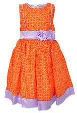 Robes orange pour fille de 4 à 5 ans
