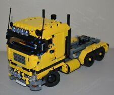 NEW LEGO TECHNIC YELLOW 8258 V6 MOC/CUSTOM TRUCKover 14 inches long