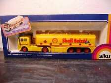 WOW EXTREMELY RARE #3511 Mercedes SK Tankwagen Shell Tanker Yellow 1:55 Siku
