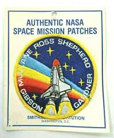 "NASA 4"" PATCH STS-27 Space Shuttle ATLANTIS Mullane Ross Gibson Shepherd Gardner"