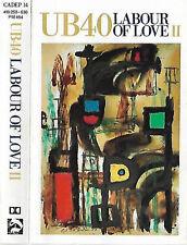 UB40  Labour Of Love II  CASSETTE ALBUM Reggae pop