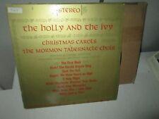 MORMON TABERNACLE - HOLLY AND IVY & CHRISTMAS CAROLS rare Vinyl Lp FRANK ASPER