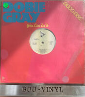 """DOBIE GRAY - You Can Do It/Thank You For Tonight (12"""") Soul Northern Vg+ Con"""
