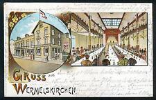 Litho / Lithografie WERMELSKIRCHEN (b Solingen Remscheid Burscheid Hückeswagen)