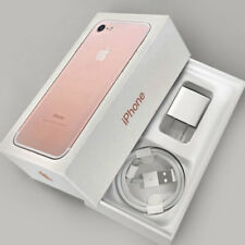 Original iPhone 7 32GB Empty Box only Retail Rose Gold w/ Charger Cable Insert