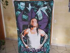 Jeff Hardy Banner Wrestling Figur Jakks WWF WWE TNA WCW Mattel Wrestlingfigur