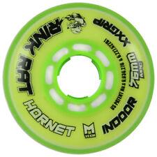 Rink Rat Single Wheel Hornet Yellow/Green 76mm 78a Inline Indoor Hockey