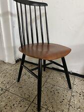 2 X Tapiovaara Sprossenstuhl mid century  Vintage Holz Stühle Teak Shabby Chic
