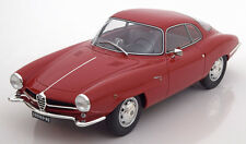 1961 Alfa Romeo Giulietta SS Red by BoS Models LE of 1000 1/18 Scale. New!