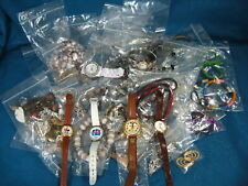 Mickey Mouse Vintage Disney Watches / Vintage Costume Jewelry Lot