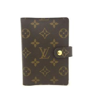 Louis Vuitton Monogram Agenda PM Notebook Cover /7059A