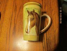 HORSEHEAD COFFEE CUP MUG BY BURTON 2006