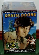 DANIEL BOONE - 1-4 TEMPORADAS COMPLETAS - 31 DVD - NUEVO - PRECINTADO- AVENTURAS