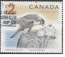 CANADA 2005 $2 PEREGRINE FALCON (Mother/Chicks) used SG 1760