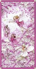 Petal Flower Faires Panel, Michael Miller, By Cicely Mary Barker