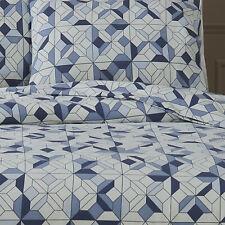175 GSM Egyptian Cotton Flannelette Quilt cover 3 Piece set Double Bed Parker
