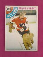 1978-79 OPC # 15 FLYERS BERNIE PARENT  GOALIE NRMT-MT CARD (INV# 8424)