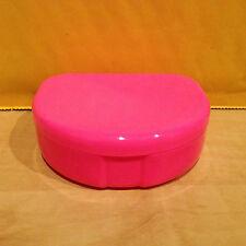 Dental Retainer Denture Case Box Holder Container Pink - USA Seller