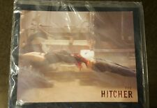 The Hitcher 8X10 promotional picture Sophia Bush between trucks 2007 Horror