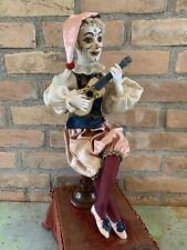 Antique French Leopold Lambert Jester/Clown Automaton Very Rare