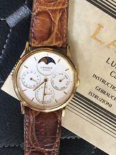 Watch Vintage Seiko Lassale Quartz Fase Lunar Complicación, Old Stock.