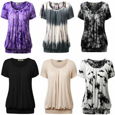 Rayon Casual Plus Size Tops for Women