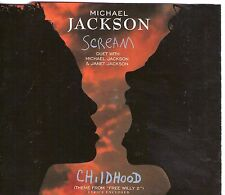 MAXI CD SINGLE 5T MICHAEL JACKSON SCREAM feat JANET JACKSON B.O FREE WILLY 1995