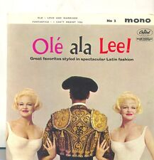 PEGGY LEE-OLE ALE LEE!-OLE/LOVE AND MARRIAGE-ORIGINAL UK EP PS 45rpm MONO 1960