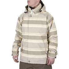 2012 NWT HOLDEN LEEDS SNOWBOARD/ SKI JACKET $200 L canvas stripe BRAND NEW