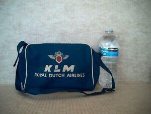 Vintage KLM ROYAL DUTCH AIRLINES SMALL BAG