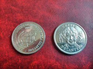 Medalla moneda oficial seleccion española 2000 urzaiz