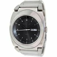Nixon The Don II Black Dial Stainless Steel Quartz Mens Watch A358-000