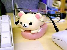 San-X Rilakkuma Korilakkuma Relax Bear Eyeglasses Sun Glasses Stand Holder