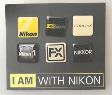 (PRL) NIKON COOLPIX NIKKOR FX PINS BADGE COLLECTION SPILLE DISTINTIVO COLLEZIONE