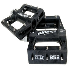 SHANMASHI BMX Bicycle Pedals Carbon Fiber MTB Road Bike 3 Sealed Bearings Pedals