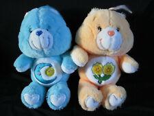 Carebears 2002/2003 Friend & Bedtime Bear Care Bear Soft Toy Plush