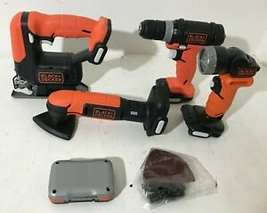 BLACK+DECKER BDCK502C1 GoPak 4-Tool Combo Kit, N