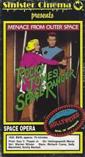 VHS:  SINISTER CINEMA ROCKY JONES MENACE FROM OUTER SPACE.....RICHARD CRANE