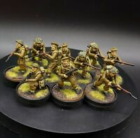 Pro Painted 28mm Bolt Action British infantry ×10 Squad #1 Warlord Games